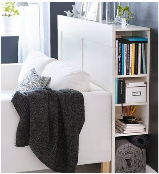 1000 images about small spaces apt living on pinterest - Ikea bedroom solutions ...