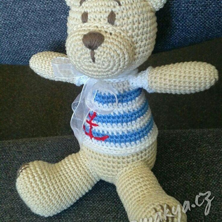 #crochet Bear #handmade  #children #toy #decoration