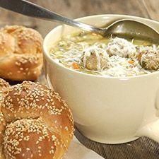 Italian Wedding Soup recipe from King Arthur Flour website - this sounds so good!