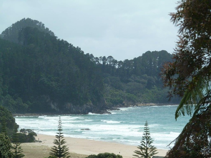 Another view of Onemana beach