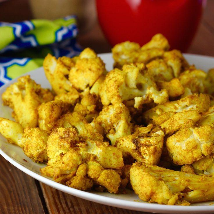 Indian Masala Roasted Cauliflower. Sooo good!