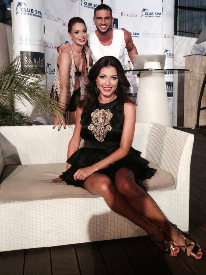 Ilinca Vandici wearing Marie Ollie at her TV show, Summer Love.
