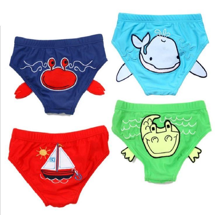 >> Click to Buy << 2016 Summer Beach Boys Swimsuit Children Swimwear Baby swimming trunks Infant swim diaper Kids bikini tankini #Affiliate