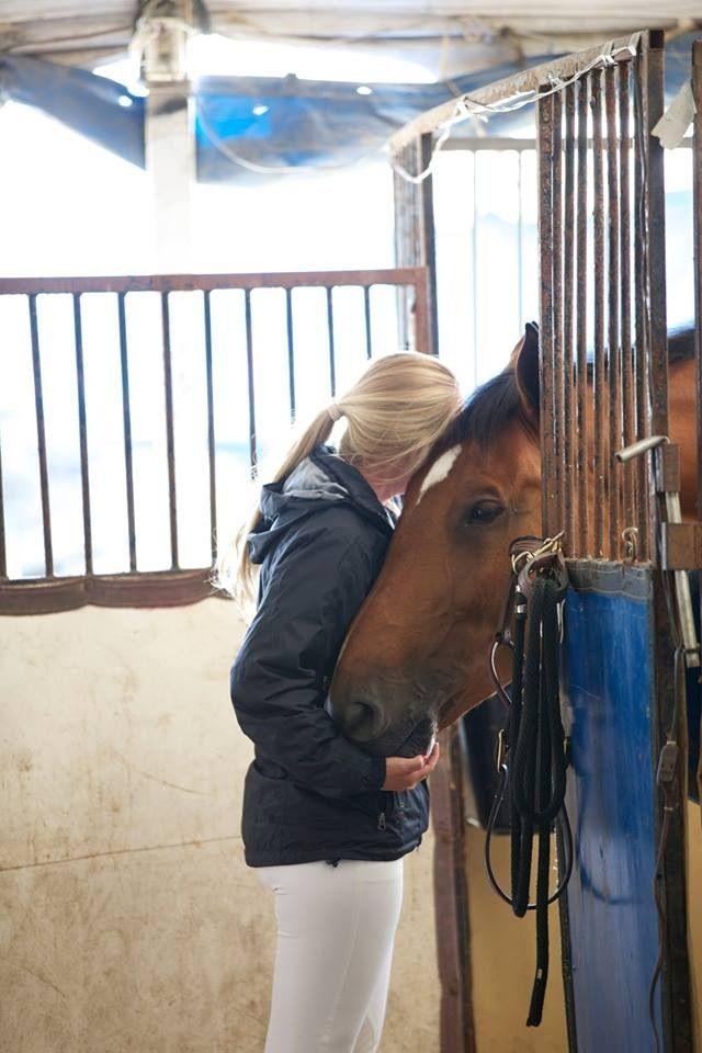 Just a little barn lovin'.