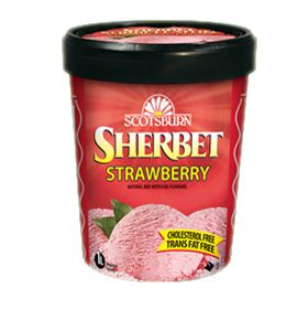 #scotsburn #icecream #sherbet #strawberry