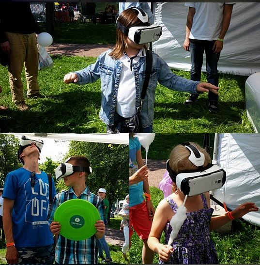 Виртуальная реальность для детей как возможность оказаться в сказке наяву. Предупреждение - будьте осторожны, предоставляя очки ребенку.