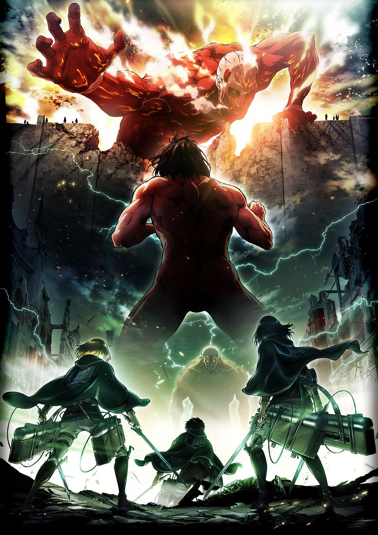 Attack on Titan season 2 has been announced!!!!!!!!!!! *Screaming*