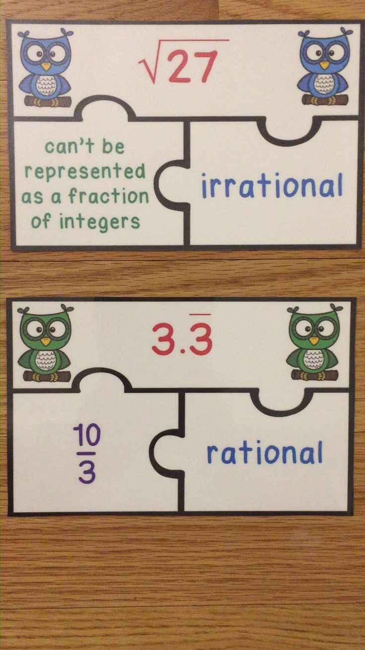 Classifying & Identifying Rational and Irrational Number