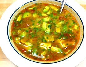 A Homemaker's Habitat: 36 weeks Pregnant and Cilantro Lime Chicken Soup