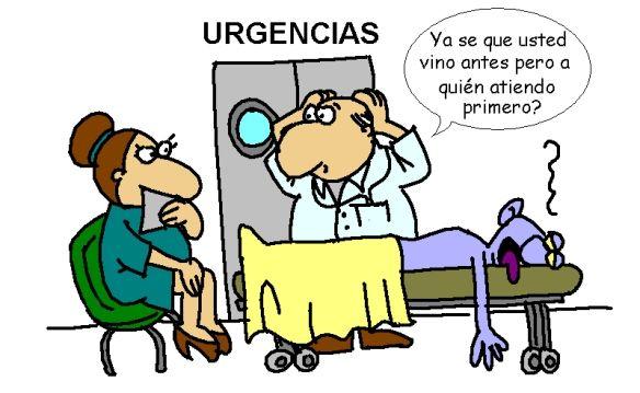 El 60% de los pacientes que acuden a urgencias, son de consulta externa o prioritaria
