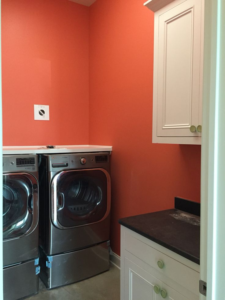 Utility Room In Sherwin Williams Lei Flower Our New
