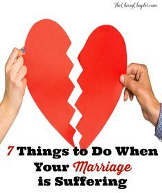 What steps would you take to prevent your marriage from failing?