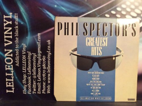 Phil Sector's Greatest Hits Compilation LP Album Vinyl Record PSLP1 Pop Soul Music:Records:Albums/ LPs:Compilations