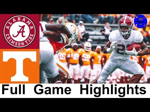 2 Alabama Vs Tennessee Highlights College Football Week 8 2020 College Football Highlights Youtu In 2020 Alabama Vs College Football Season Alabama Vs Tennessee
