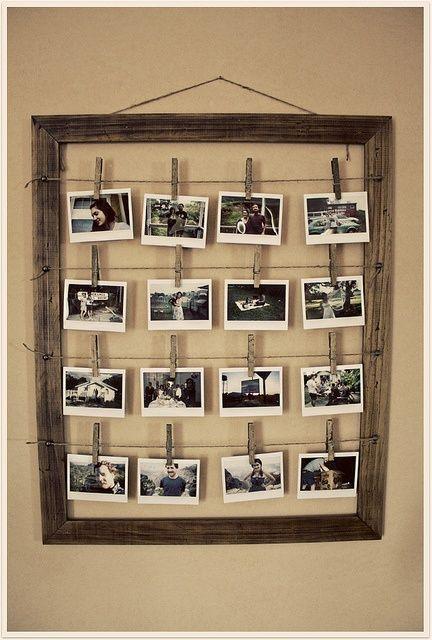 Hazlo tú misma - Cómo hacer un marco para fotos