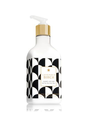 Lavender Birch Hand Lotion With Olive Oil Bath And Body Works