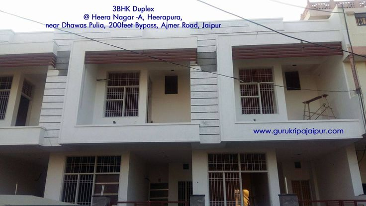 3 BHK Duplex House for Sale Heera Nagar -A, Heerapura, Near Dhawas Pulia, 200 feet Bypass, Ajmer Road Jaipur