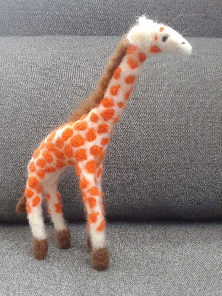 Filcowa żyrafa