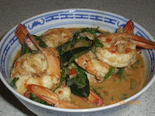 Cate Can Cook, So Can You!!: Choo Chee Prawns