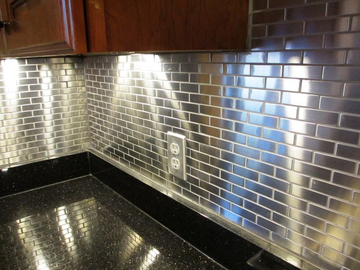 METAL TILE Backsplash Designs For Your Kitchen And Bathroom Projects Http://