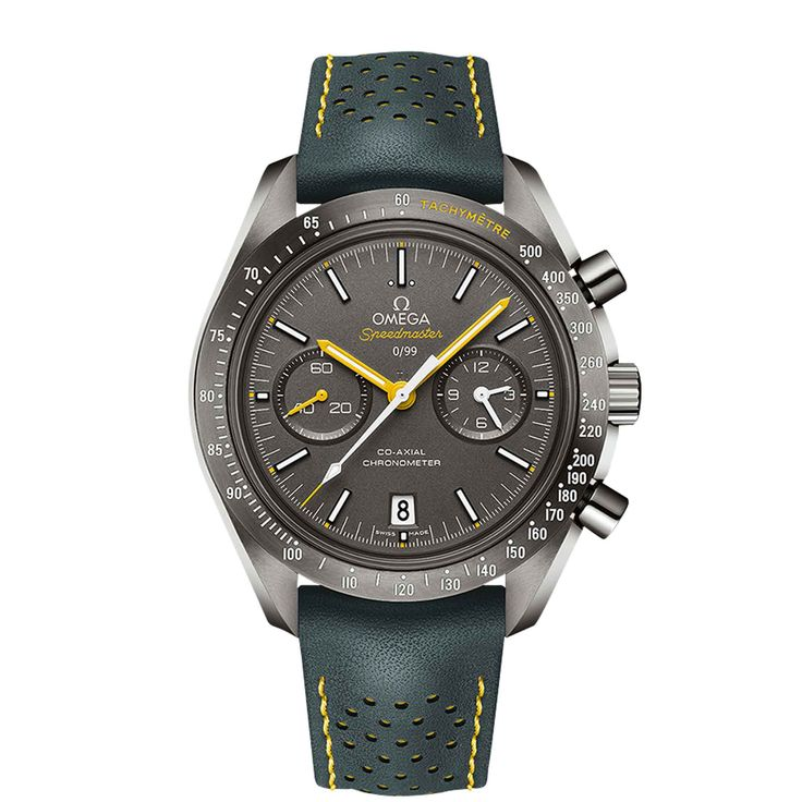 Omega Speedmaster Grey Side of the Moon Porsche Club of America Limited Edition -  The Omega Speedmaster Grey Side of the Moon Porsche Club of America Limited Edition is another special edition of the Moonwatch  -  Your Watch Hub