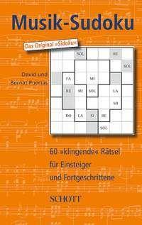 """Musik-Sudoku - Band 1 Endlich hat das Sudoku-Fieber auch die Welt der Musik erreicht. """"Musik-Sudoku"""" ist die erste """"klingende"""" Variante des beliebten Zahlenpuzzles."""