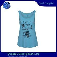 Wholesale High Quality Cotton Woman Printed Tank Tops best buy follow this link http://shopingayo.space