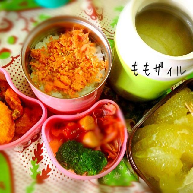 おはようございます(o^^o) 札幌はまだ冬休みです〜❄⛄ - 56件のもぐもぐ - 中2娘の部活お弁当 by momozail