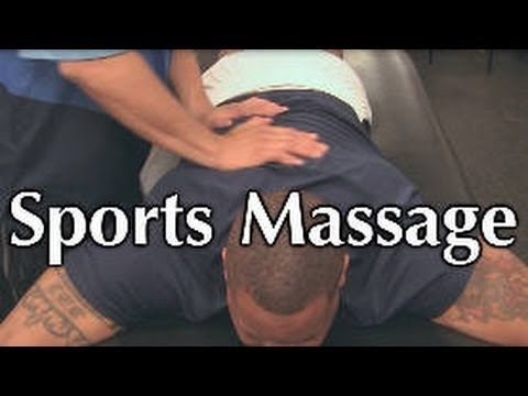 Too Ripped? Awesome Sports Massage for Back Pain, Tight Muscles, Poor Po...