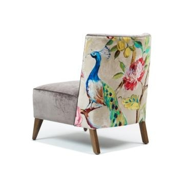 Romeo Fabric Accent Chair from Domayne