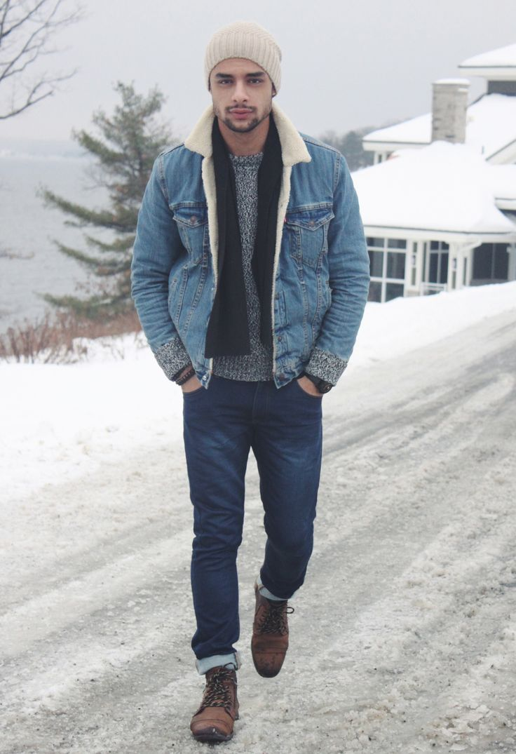 Hat - ZaraCoat - LevisSweater - ZaraPants - Hudson Bay FOLLOW : Guidomaggi Shoes Pinterest | Guidomaggi Shoes Instagram