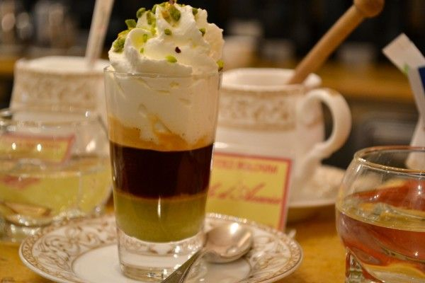Pistacchio Coffee from Caffe Terzi in Bologna, Italy