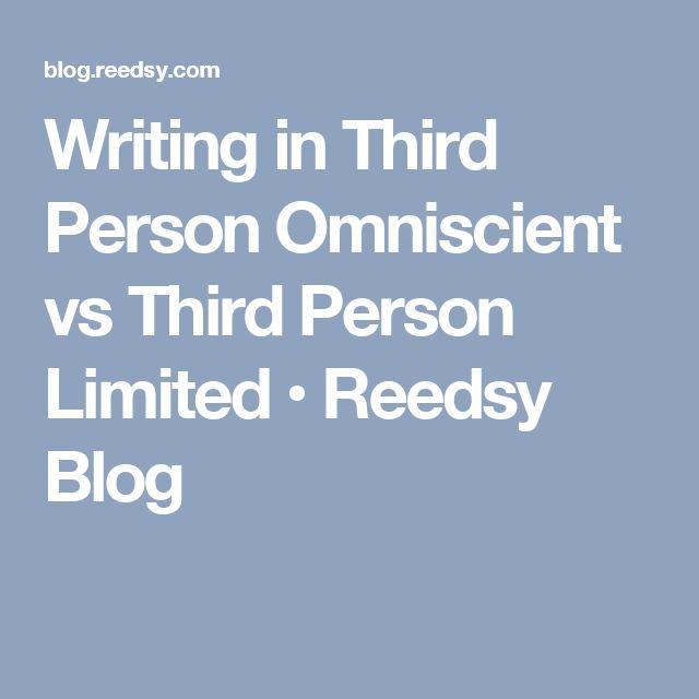 Defining third person limited POV