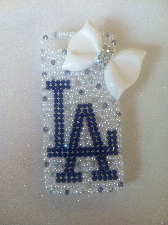 FREE SHIPPING Los Angeles Dodgers iPhone 5 Case on Etsy, $23.00