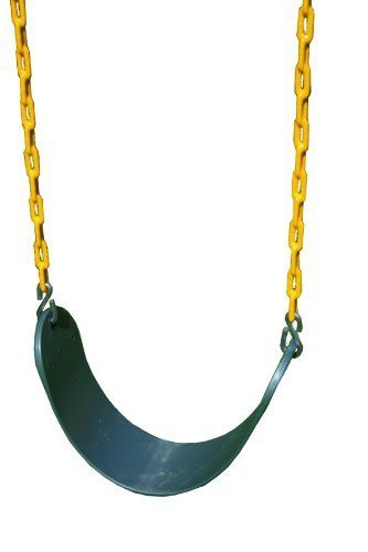 Inspirational Eastern Jungle Gym Sling Swing With Coated Chain Green by Eastern Jungle Gym