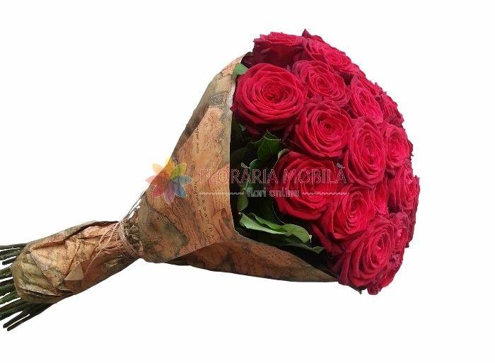 buchete din trandafiri rosii