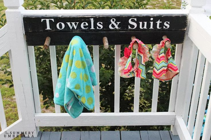 Make Your Own Towel Rack