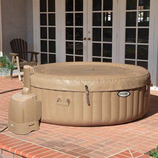 found it at wayfair intex purespa bubble therapy spa sethttpwww hot - Wayfair Hot Tub