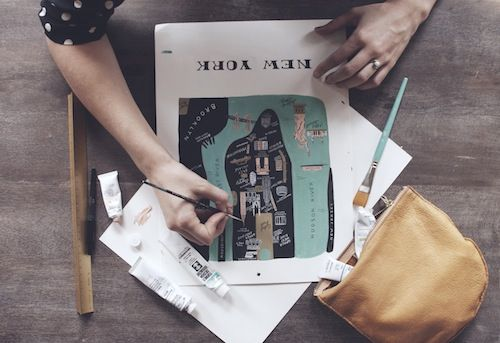 Biz Ladies Profile, Anna Bond, Rifle Paper Co.