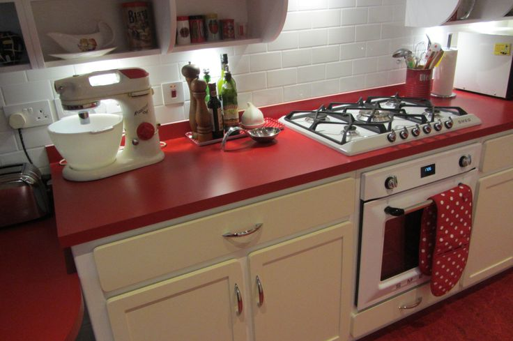 Our Recent Retro Kitchen fitted in London