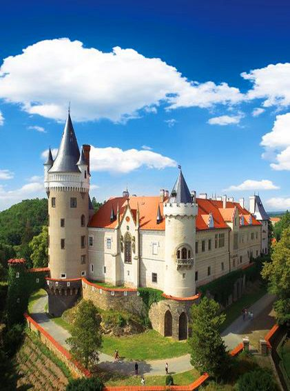 Žleby castle (Central Bohemia), Czechia