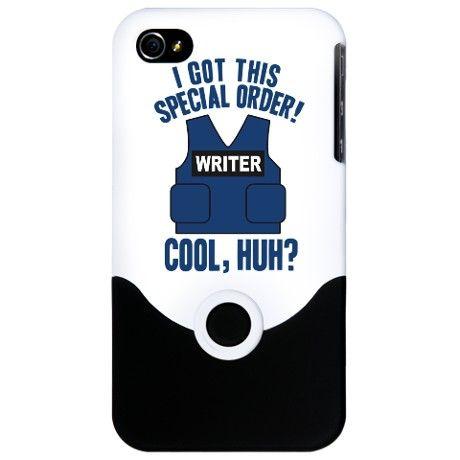 Castle Writer Vest Quote iPhone 4 Slider Case Castle TV show  $24.50