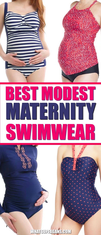 6eb0d196f0bd The BEST modest maternity swimwear for pregnant women | modest maternity  swimsuits #maternityclothes #swimsuits #maternityswimsuits