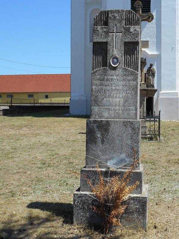 Nagy Ferencz határvadász síremléke (Zalahaláp) http://www.turabazis.hu/latnivalok_ismerteto_5067 #latnivalo #zalahalap #turabazis #hungary #magyarorszag #travel #tura #turista #kirandulas