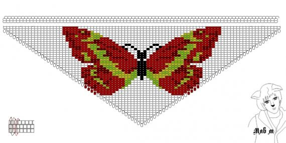 Схемы: Бабочки