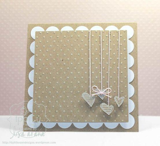 Simple and beautiful! Handmade card