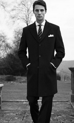 Matthew Goode.  Trenchcoats are awesome.