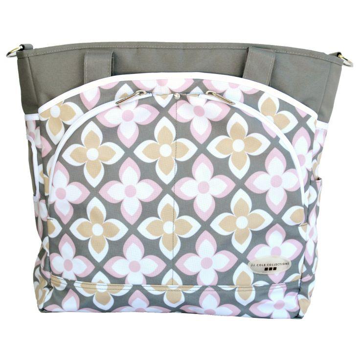 JJ Cole Diaper Bag Mode Pink Lily. #laylagrayce #new #jjcole