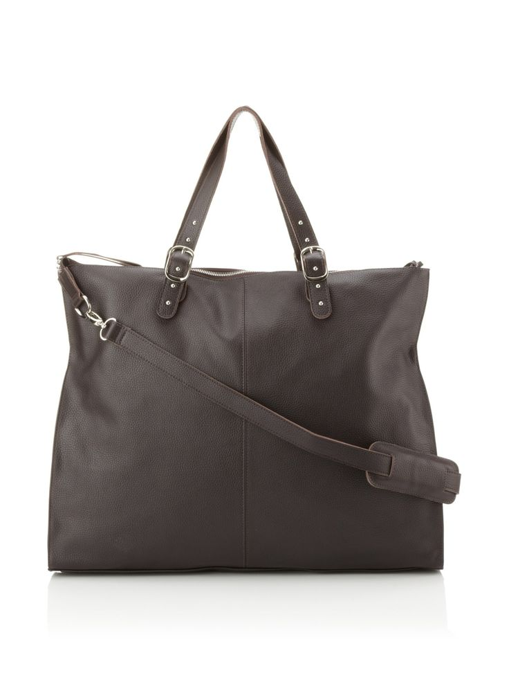 Sandy Leather Top Handle with Shoulder Strap