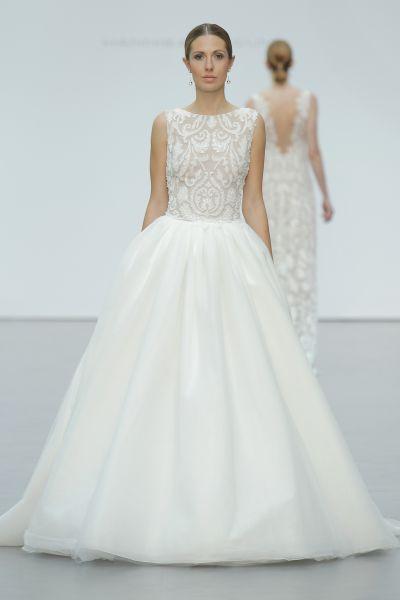 50 hermosos vestidos de novia con falda voluminosa: Todo un cuento de hadas Image: 18